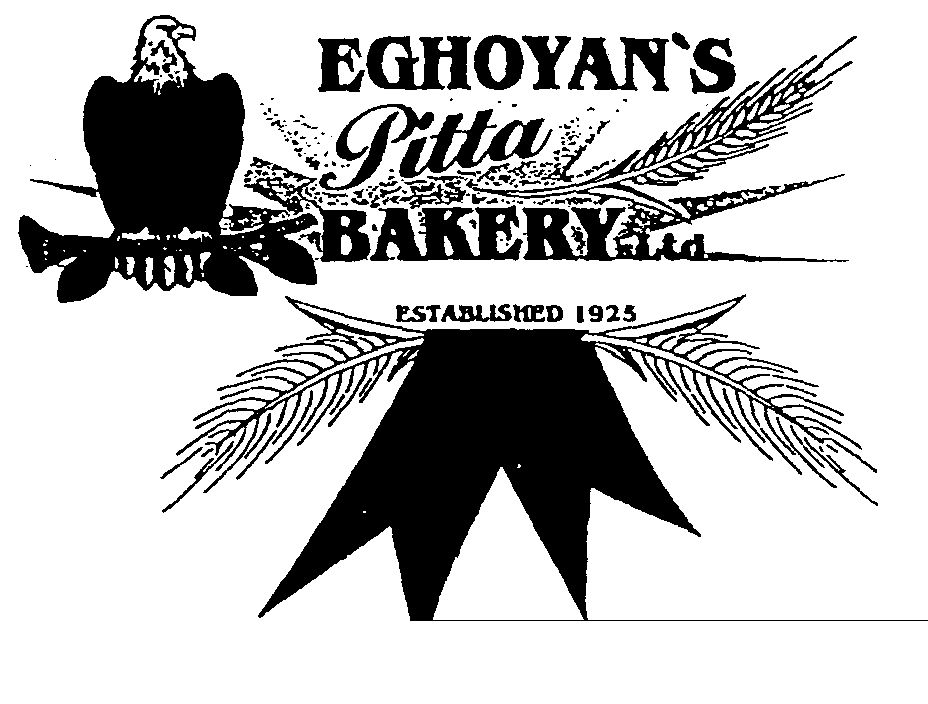 Trademark information for EGHOYAN'S Pitta BAKERY Ltd ESTABLISHED ...