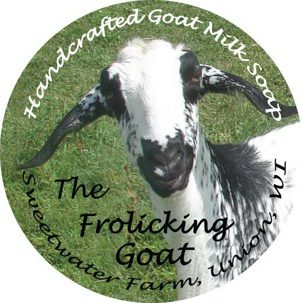 HANDCRAFTED GOAT MILK SOAP SWEETWATER FARM, UNION, WI THE FROLICKING GOAT